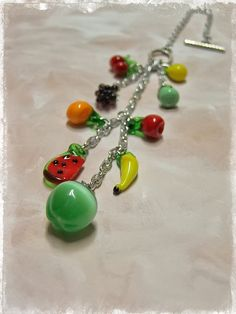 Fruity Car Charm  Rear View Mirror Accessories by OurBeadBox, $20.00