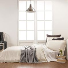 600TC Cotton Bamboo Quilt Cover Mud