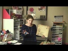 Our good friend Megan Elizabeth Gravener of scrapbooking fame is all over it today for National Scrapbooking Day!