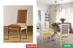Nu mai arunca mobila veche – Iată cum o poți refolosi Ikea, Dining Chairs, Restaurant, House Design, Interior, Modern, Furniture, Home Decor, Trendy Tree