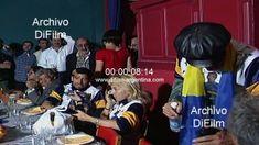 Diego Maradona junto a su familia durante comida en Boca Juniors 1995 + @dailymotion Videos, Presidents, Celebrities, Children, People, Food, Young Children, Celebs, Boys