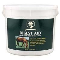 DIGEST AID, Size: 7 POUND, Restricted States: KY (Catalog Category: Equine Supplements:SUPPLEMENTS) by FARNAM COMPANIES INC. $61.21. One ounce given daily can help poor keepers maintain peak condition on less grain. Contains aspergillus oryzae fermentation extract, a beneficial microflora that secretes enzymes that aid in the breakdown of Allows the horse to more fully utilize the nutrients in their diet. Helps increase horses stamina.Ingredients: Heat Treated Who...