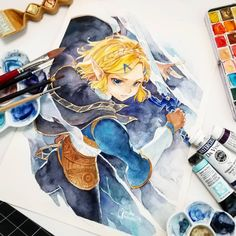 Link And Midna, Link Zelda, The Legend Of Zelda, Legend Of Zelda Breath, Zelda Drawing, Princesa Zelda, Naha, Fun Challenges, Breath Of The Wild