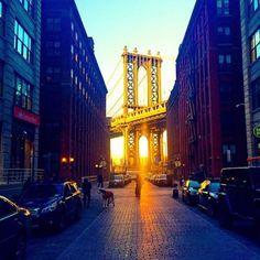 Dumbo, Brooklyn Bridge Waterfront, NYC by scottlipps Dumbo Brooklyn Bridge, Manhattan Bridge, Brooklyn Nyc, Washington Heights, Washington Dc, I Love Nyc, New York Christmas, Most Beautiful Cities, Beautiful Scenery