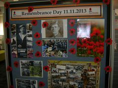 Remembrance day display Library Book Displays, Library Ideas, Remembrance Sunday, Remember Day, School Displays, Anzac Day, Lest We Forget, Fun At Work, Sunday School