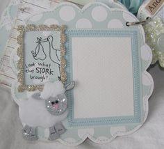 annettes paper bistro: baby scrapbook