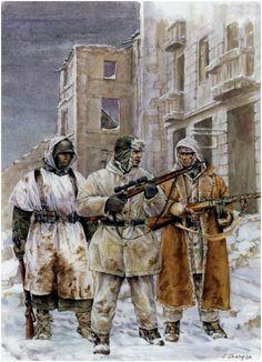 German troops in Stalingrad
