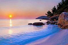 Thassos island, saliara beach