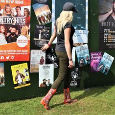 Talolo Boots: Seriously cool funky festival Wellies for Women! The original Cowboy style Welly boot that looks great wherever you wear them ! Take a look Funky Wellies, Wellies Boots, Festival Wellies, Waterproof Winter Boots, Wellington Boot, On The High Street, Look Chic, Looks Great, That Look