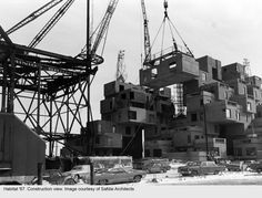 "Safdie Architects, ""Habitat '67,"" Montreal, Canada, 1976. (Courtesy of Safdie Architects)"