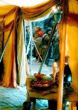 Thranduil's tent