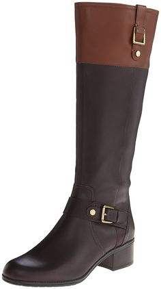 63b8591d0b24 Bandolino Women s Cranne Wide Calf Leather Riding Boot     Unbelievable  outdoor item right here