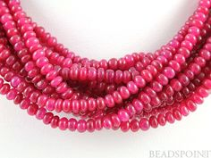 Natural NO TREATMENT Genuine African Ruby AAA by Beadspoint, $74.95