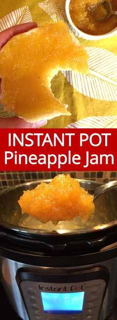 I can eat this Instant Pot pineapple jam all day with a big spoon! There is nothing like homemade jam made with FRESH pineapple! Instant Pot makes it so easy, this is the only pineapple jam recipe I'll ever need! Best Nutrition Food, Health And Nutrition, Nutrition Products, Nutrition Data, Nutrition Guide, Beef Nutrition, Health Tips, Nutrition Pyramid, Avocado Nutrition