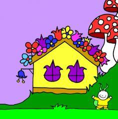Bogyó és Babóca, Gömbi háza Baby Room, Room Ideas, Cartoon, How To Make, House, Nursery, Haus, Comic, Infant Room