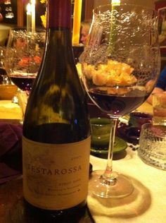 Testarossa 2007 Pinot Noir to complement a most delicious meal.