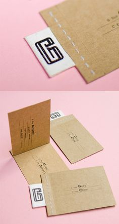 The post Earthy Interactive Stitched Enterprise Card appeared first on DICKLEUNG DESIGN GROUP.  Uncategorized