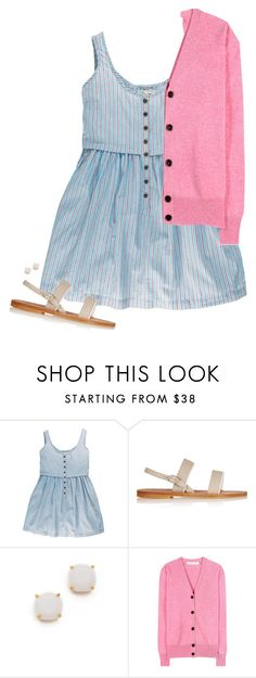 """""""Untitled #18"""" by rosemarylopez-1 ❤ liked on Polyvore featuring K. Jacques, Kate Spade and Victoria Beckham"""
