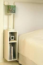 Home bedroom small bedside tables 34 Ideas for 2019 Small Nightstand, Floating Nightstand, Nightstand Ideas, Nightstands, Bedside Shelf, Small Bedside Tables, Skinny Bedside Table, Desk Ideas, Bedside Lamp