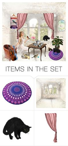 """""""My She Shed"""" by chauert ❤ liked on Polyvore featuring art"""