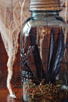 Crow Feathers {Hayseed Homemakin'}