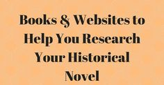 Georgie Lee - Writing to the Sound of Legos Clacking: Books & Websites to Help You Research Your Historical Novel