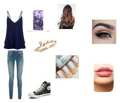 """""""meeting nash"""" by sashac11 on Polyvore featuring C/MEO COLLECTIVE, Yves Saint Laurent, Converse, LASplash, women's clothing, women, female, woman, misses and juniors"""