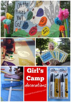 Dr. Seuss Girl's Camp - Decorations, ideas and more by Honey I'm Home