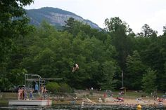 When's the last time you dove into an old-fashioned swimming hole?  You can at Table Rock State Park in SC.  http://www.southcarolinaparks.com/tablerock