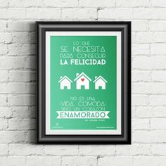 """Cartel """"La Felicidad"""" Calm, Artwork, Texts, Tinkerbell, Love Of My Life, Happiness, Christian Gifts, Christian Messages, Valentines"""
