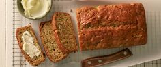 Here's another brilliant (and easy!) way to use up a garden full of zucchini. These tasty loaves are freezer-friendly, so bake up a few batches and save for later.