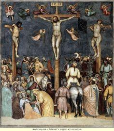 Altichiero da Zevio. Crucifixion.