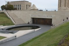 National World War One Museum, Kansas City, MO. Re-Pinned by HistorySimulation.com Kansas City Missouri, Hidden Treasures, World War One, Museum Exhibition, Wwi, Museums, State Parks, Places To Travel, Places Ive Been