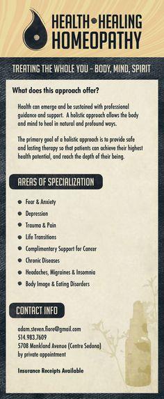 Homeopathy promo back