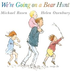 This read-out-loud book about a family who embark on a venture to find a bear will have your little one intrigued from the start.