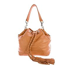 Rebecca Minkoff Women's Tess Braided Tassel Bucket Shoulder Bag One Size Sherbert -- More info could be found at the image url.