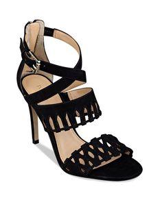 Ivanka Trump Dress Sandals - Drita Woven Cutout