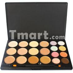 20 Color Professional  Makeup Concealer Camouflage Eyeshadow Palette,$10.98