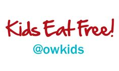 All New Kids Eat Free and Cheap Offers