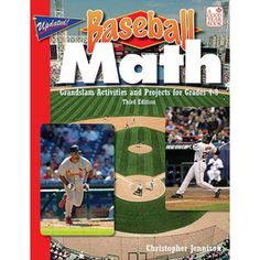 Baseball Math (and the description says other sports are used to)- This would be so great for kids that don't think that math is used in real life! $12.95