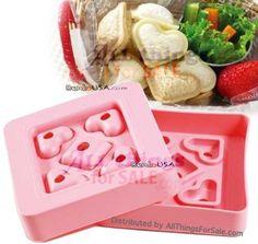 Mini heart cutter sandwich press  #AllThingsForSale