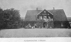 Embryo Zanderinstitut 1857 Bårarp Sweden - outside The photo was taken 1890 on this history buidling