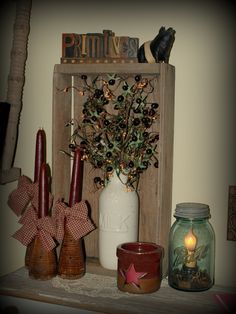 primitive country decor decorating