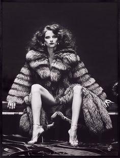 Charlotte Rampling (b. Feb. 5, 1946) as Venus in Furs, by Helmut Newton