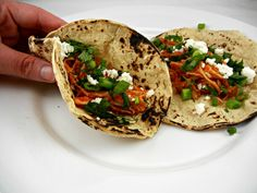 Chicken Tingas. Real Mexican Street food at home! Make for #cincodemayo. @ The Tasty Fork