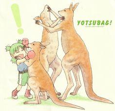 Yotsuba and kangaroo
