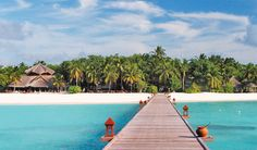 Be cast away into paradise on earth in the Maldives...