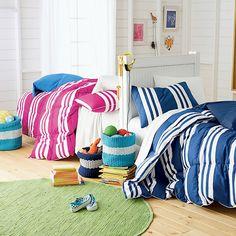 LaCrosse Jr. Printed Striped Comforter for Kids