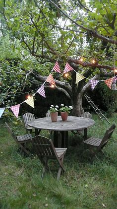 after the party by brown paper and string, via Flickr