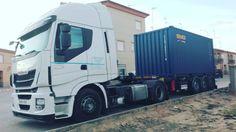 Nugatrans - Agencia de Transportes Continuamos una nueva jornada. Buenos dias!! #agenciadetransportes  #mercancia #transporte #carretera  #ilusiones #felizmiercoles Trucks, Vehicles, High Road, Illusions, Transportation, Truck, Car, Vehicle, Tools
